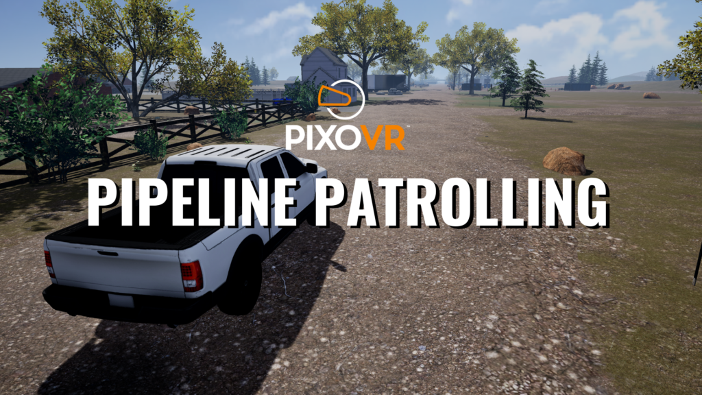 Patrol a mile-long simulated gas pipeline to ensure it's operating safely.