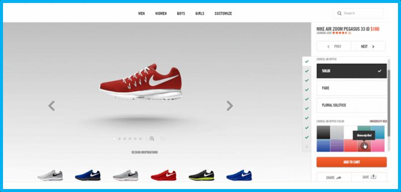 Nike Configurator